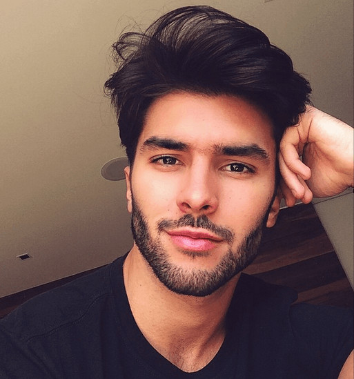 Male Models Hairstyle  3 Male Models With Amazing Hairstyles