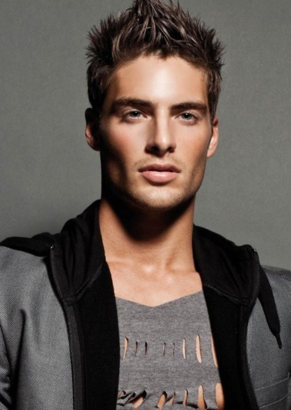 Male Models Hairstyle  45 Cool Spike Hairstyles for Men Her Canvas