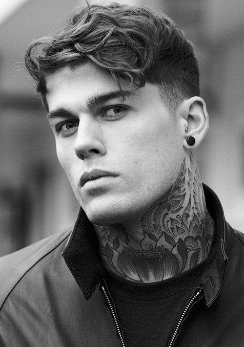 Male Models Hairstyle  Men s Hairstyle Inspirations From 4 Top Male Models