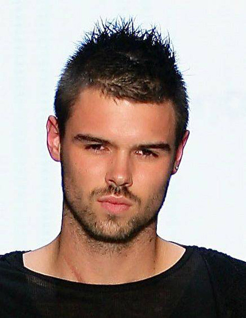 Male Spiky Hairstyle  20 Best Mens Short Hairstyles 2012 2013