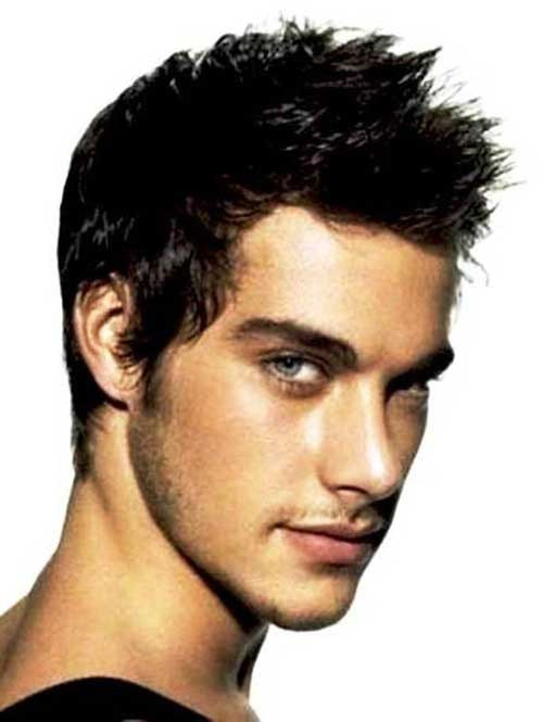 Male Spiky Hairstyle  10 Short Spiky Mens Hairstyles