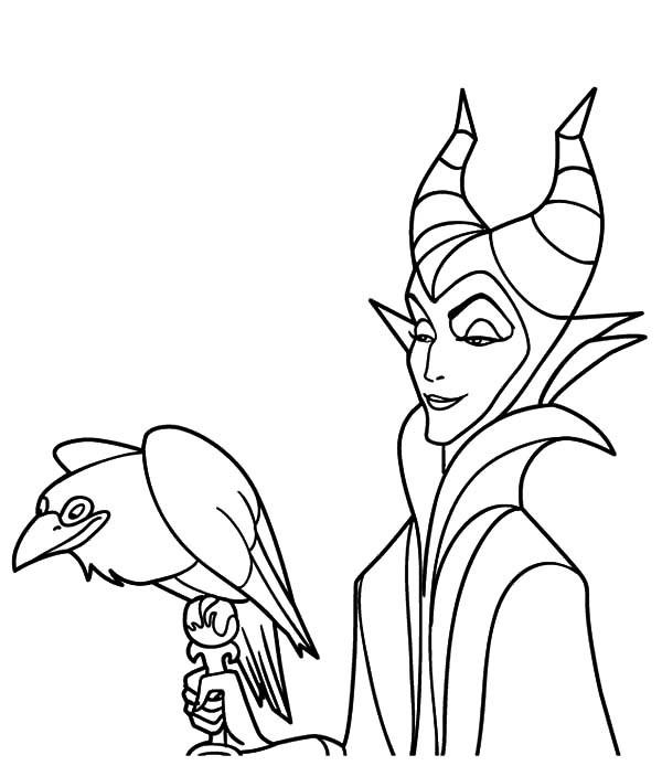 Maleficent Coloring Pages  25 Maleficent Coloring Pages ColoringStar