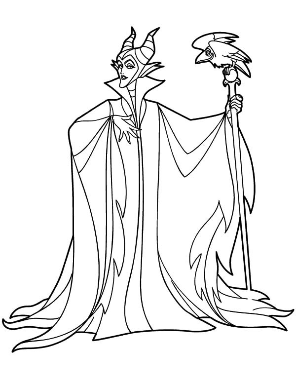 Maleficent Coloring Pages  Angelina Jolie Maleficent Coloring Pages Angelina Jolie