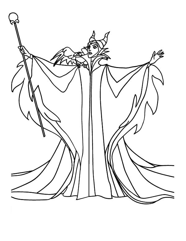 Maleficent Coloring Pages  Free Printable Coloring Pages Part 52