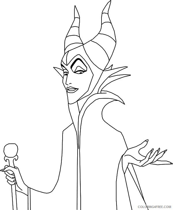 Maleficent Coloring Pages  Maleficent Face Coloring Coloring Pages