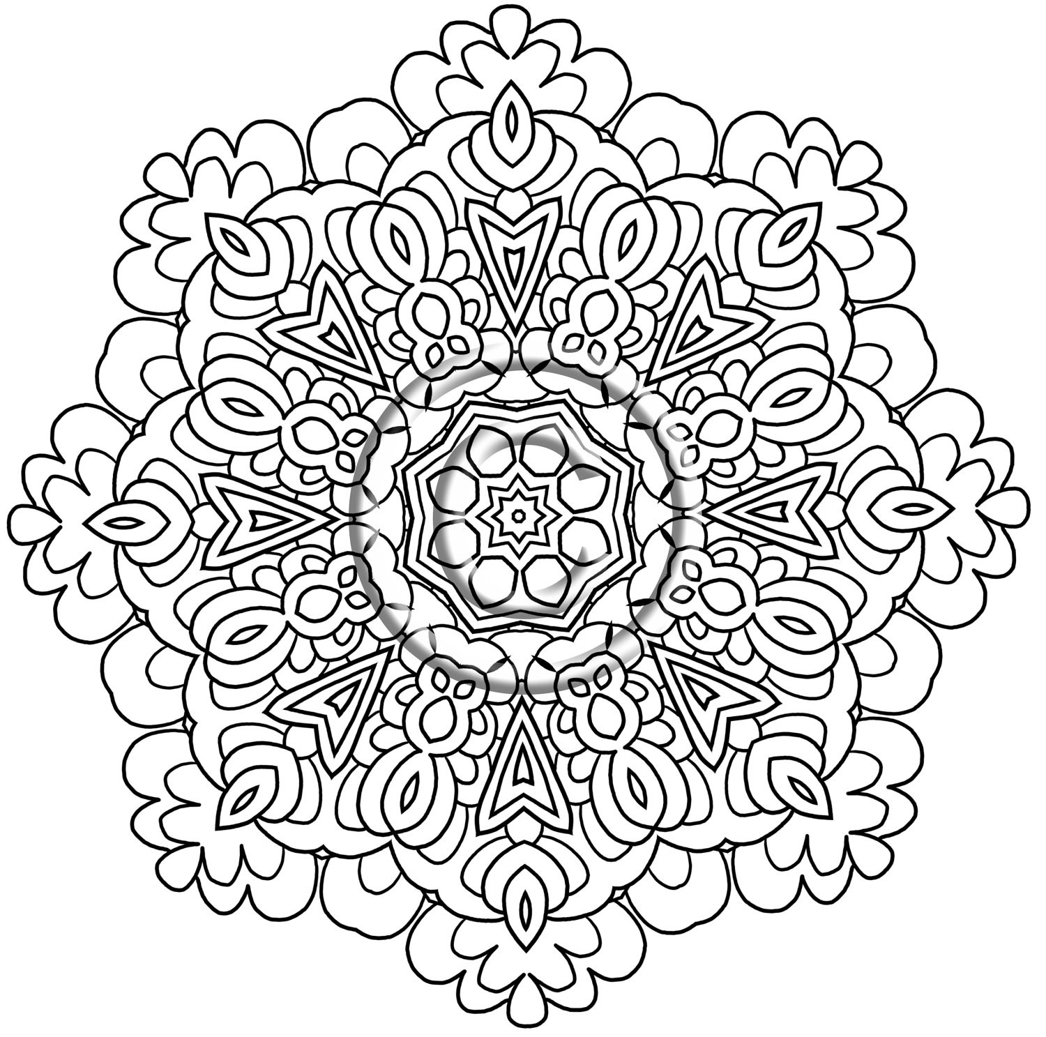 Mandala Art Coloring Pages  Flower Mandala Coloring Pages coloringsuite