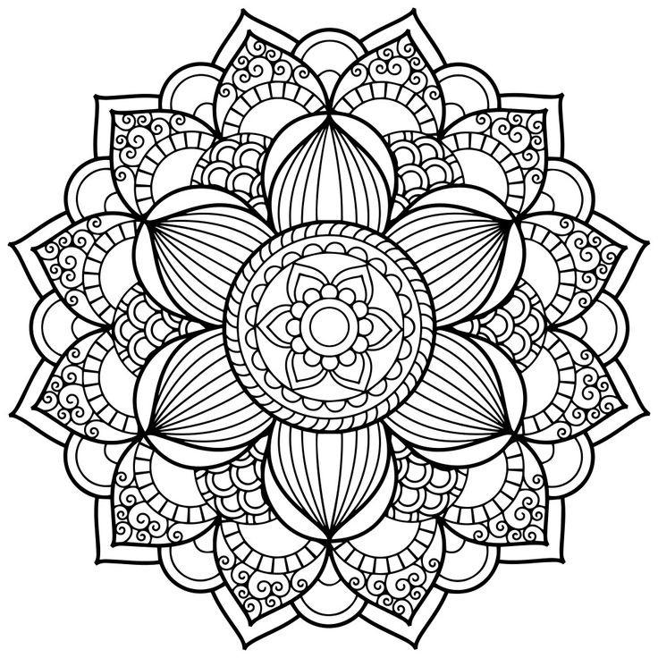 Mandala Art Coloring Pages  Mandala Coloring Pages for Adults for Android iOS and