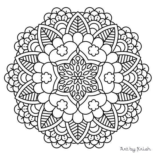 Mandala Coloring Sheets For Kids  Mandala Coloring Sheets Pdf The Color Panda