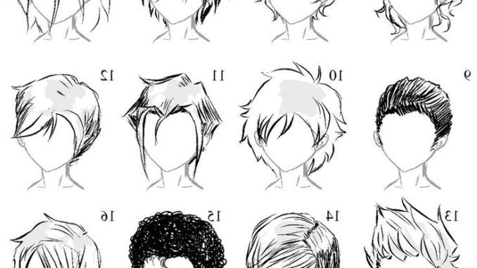 Manga Hairstyles Male  Cool Anime Male Hairstyles