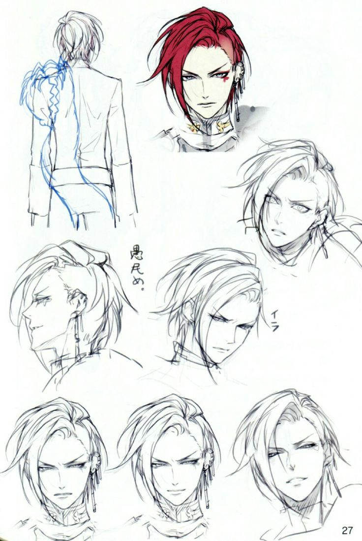 Manga Hairstyles Male  Best 25 Anime boy hairstyles ideas only on Pinterest