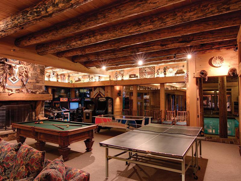 Best ideas about Mansion Game Room . Save or Pin Ski House of the Day Park City Mansion Now.