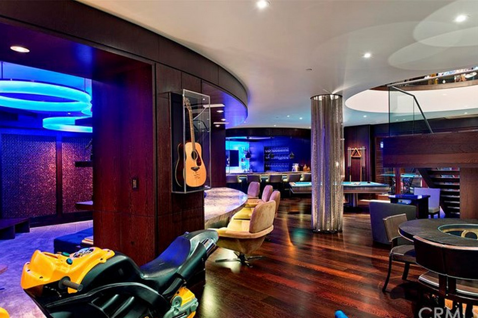 Best ideas about Mansion Game Room . Save or Pin $45 Million Contemporary Mansion In Laguna Beach CA Now.