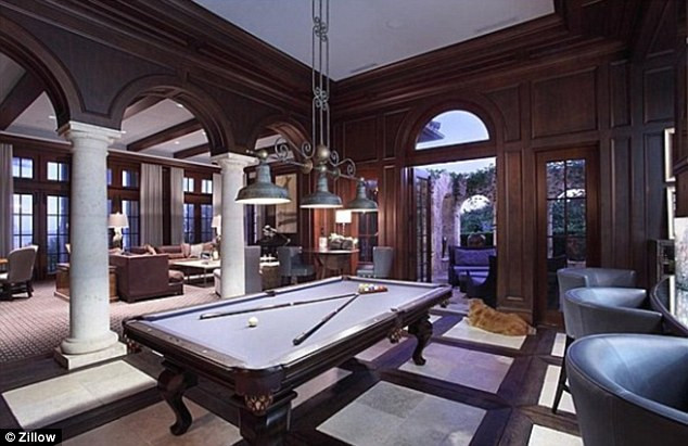 Best ideas about Mansion Game Room . Save or Pin Kevin James puts his palatial Florida mansion on the Now.