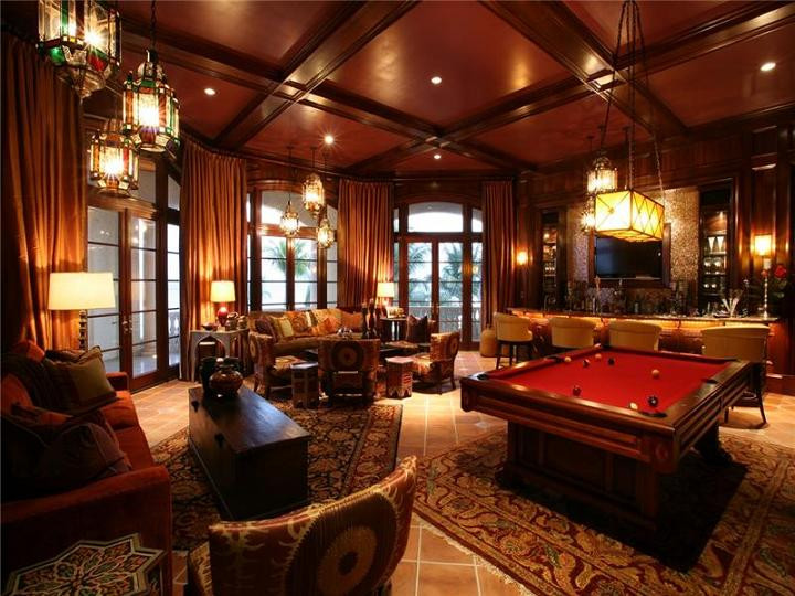 Best ideas about Mansion Game Room . Save or Pin The $60 Million Mansion on the Ocean Castillo Caribe Now.