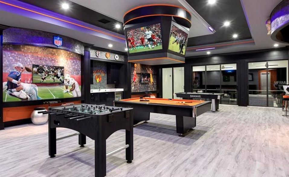 Best ideas about Mansion Game Room . Save or Pin 13 000 Square Foot Mansion In Reunion Florida Now.