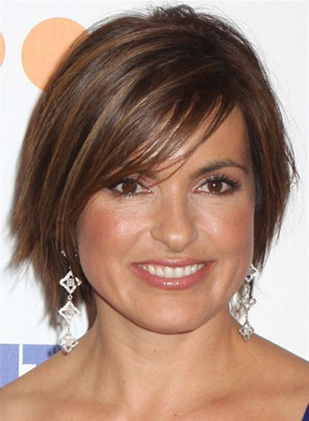 Best ideas about Mariska Hargitay Short Hairstyles . Save or Pin Short Celebrity Hairstyles for Women Now.