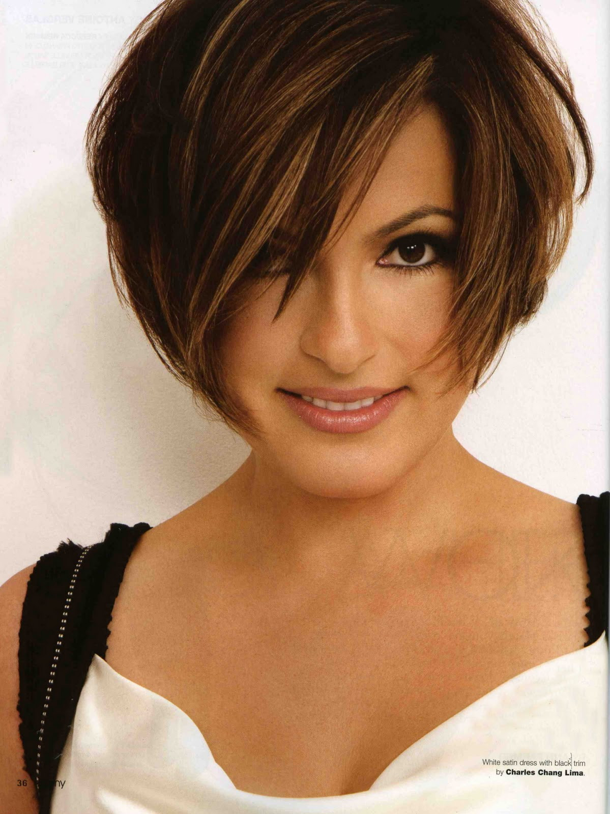 Best ideas about Mariska Hargitay Short Hairstyles . Save or Pin 1199x1600 source mirror Now.