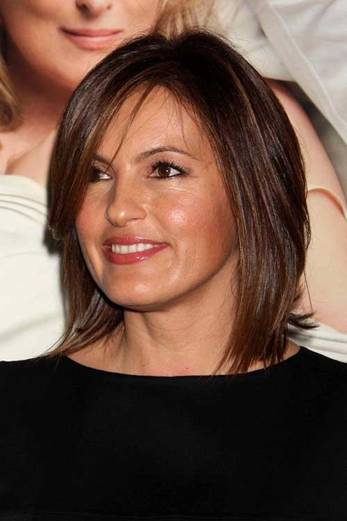 Best ideas about Mariska Hargitay Short Hairstyles . Save or Pin 20 Chic Short Medium Hairstyles for Women Now.