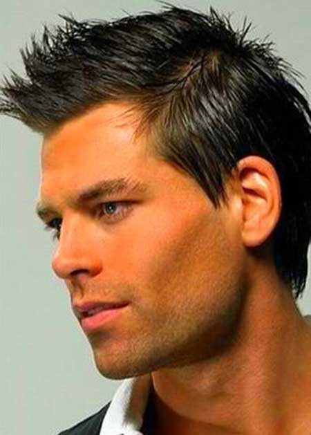 Masculine Haircuts For Females  Spiky Hairstyles for Men