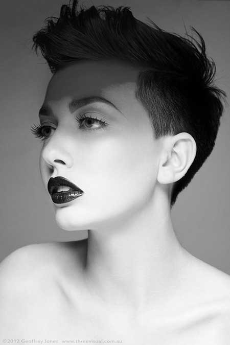 Masculine Haircuts For Females  New Trendy Short Hair Styles