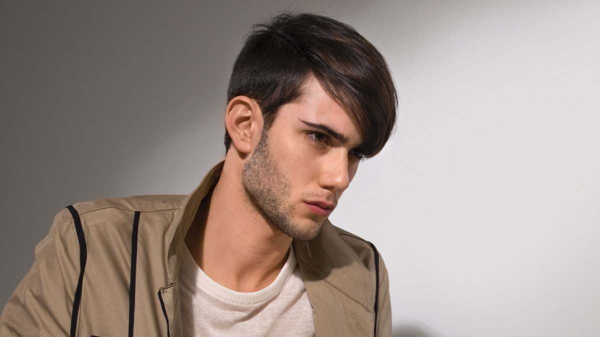 Masculine Haircuts For Females  Man s haircut created with clippers for a masculine look