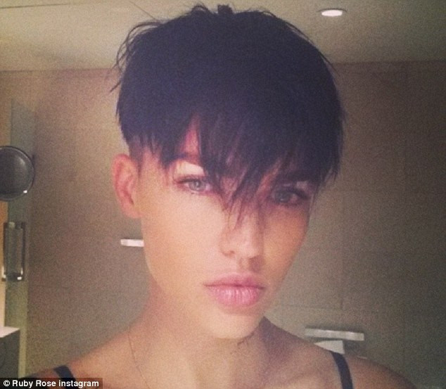 Masculine Haircuts For Females  Ruby Rose reveals that she had longed to undergo a female