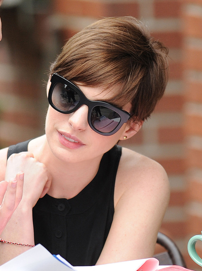 Masculine Haircuts For Females  Short Hairstyles Lovely Anne Hathaway Masculine Haircuts