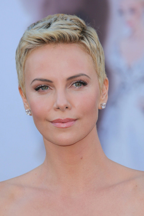 Masculine Haircuts For Females  Short Hairstyles Charlize Theron s Masculine Haircuts For