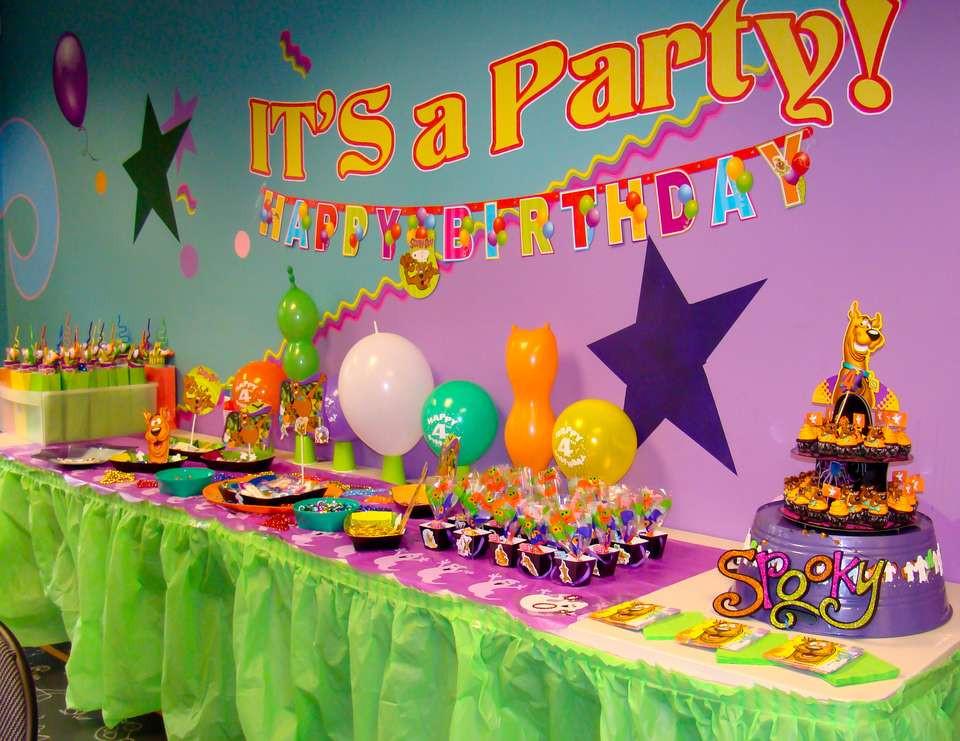 """Maui Birthday Party  Spooky Scooby Doo Birthday """"Maui s 4th Birthday"""""""