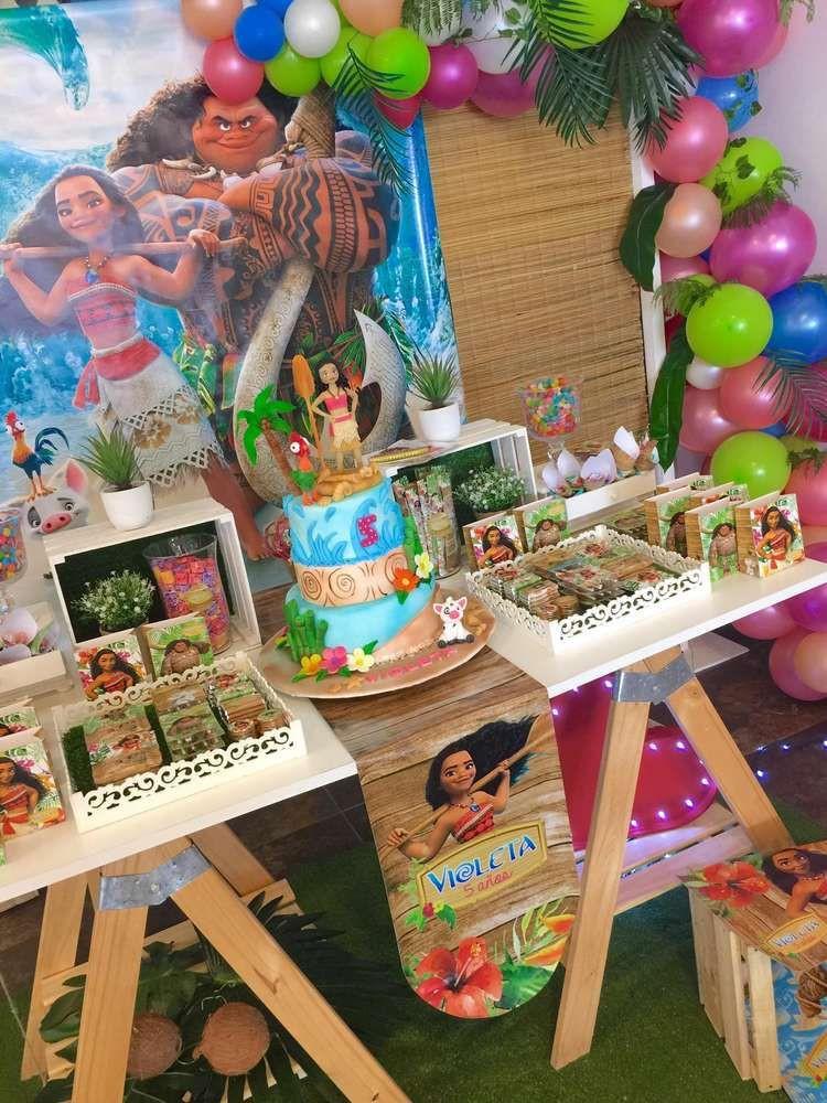 Maui Birthday Party  Moana and Maui Birthday Party Ideas