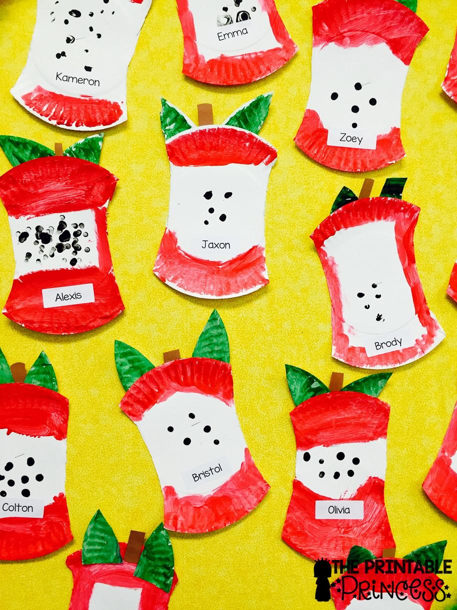May Crafts For Preschoolers  The Printable Princess Apple Week Activities