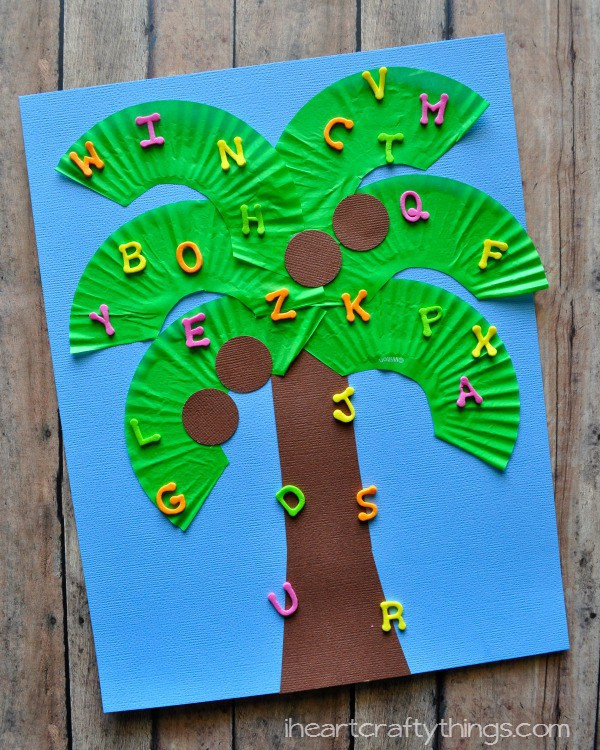 May Crafts For Preschoolers  Chicka Chicka Boom Boom Lesson Plans Mrs Wills Kindergarten