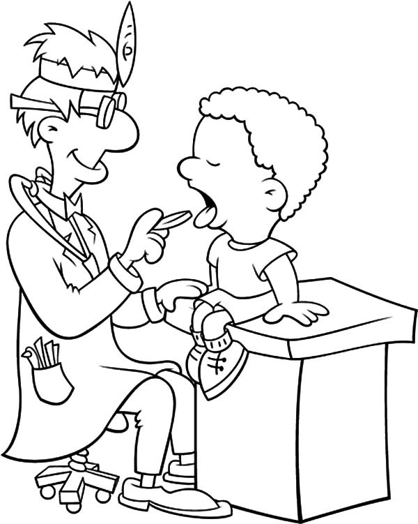 Medical Coloring Sheets For Kids  Printable Medical Coloring Pages Printable Best Free