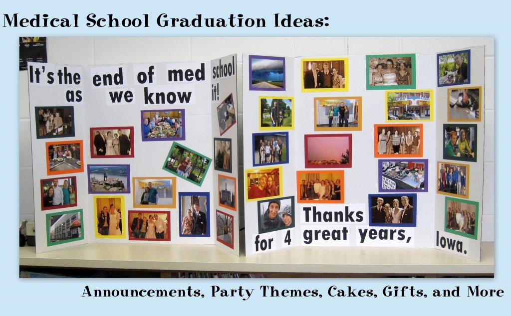 Medical School Graduation Gift Ideas  Medical School Graduation Ideas Announcements Party