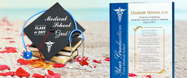 Medical School Graduation Gift Ideas  Personalized Crystal Gifts For Medical School Graduates