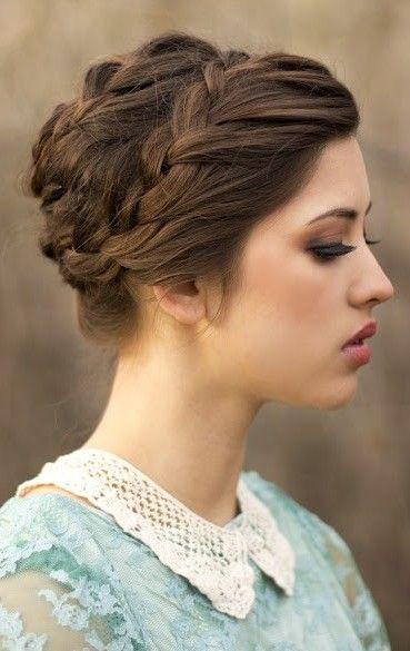 Medium Braided Hairstyles  18 Quick and Simple Updo Hairstyles for Medium Hair