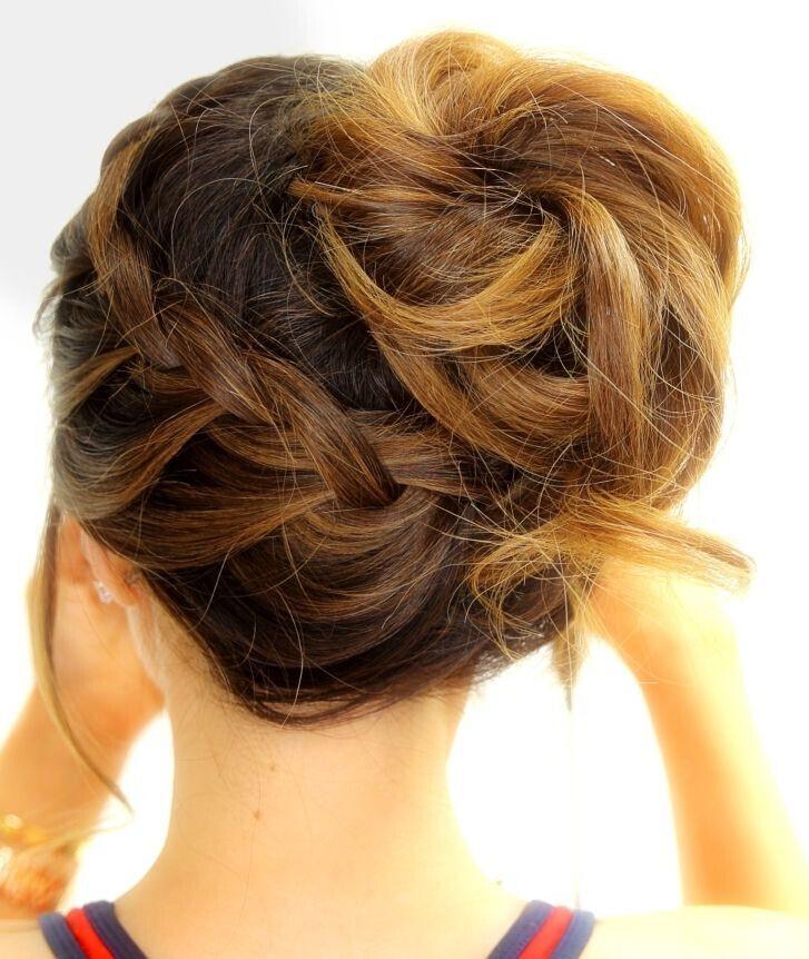 Medium Braided Hairstyles  Trubridal Wedding Blog