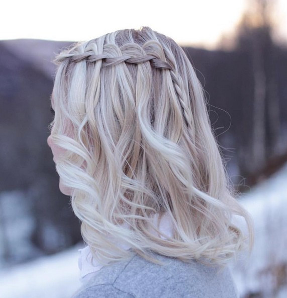 Medium Braided Hairstyles  20 Amazing Braided Hairstyles for Home ing Wedding & Prom