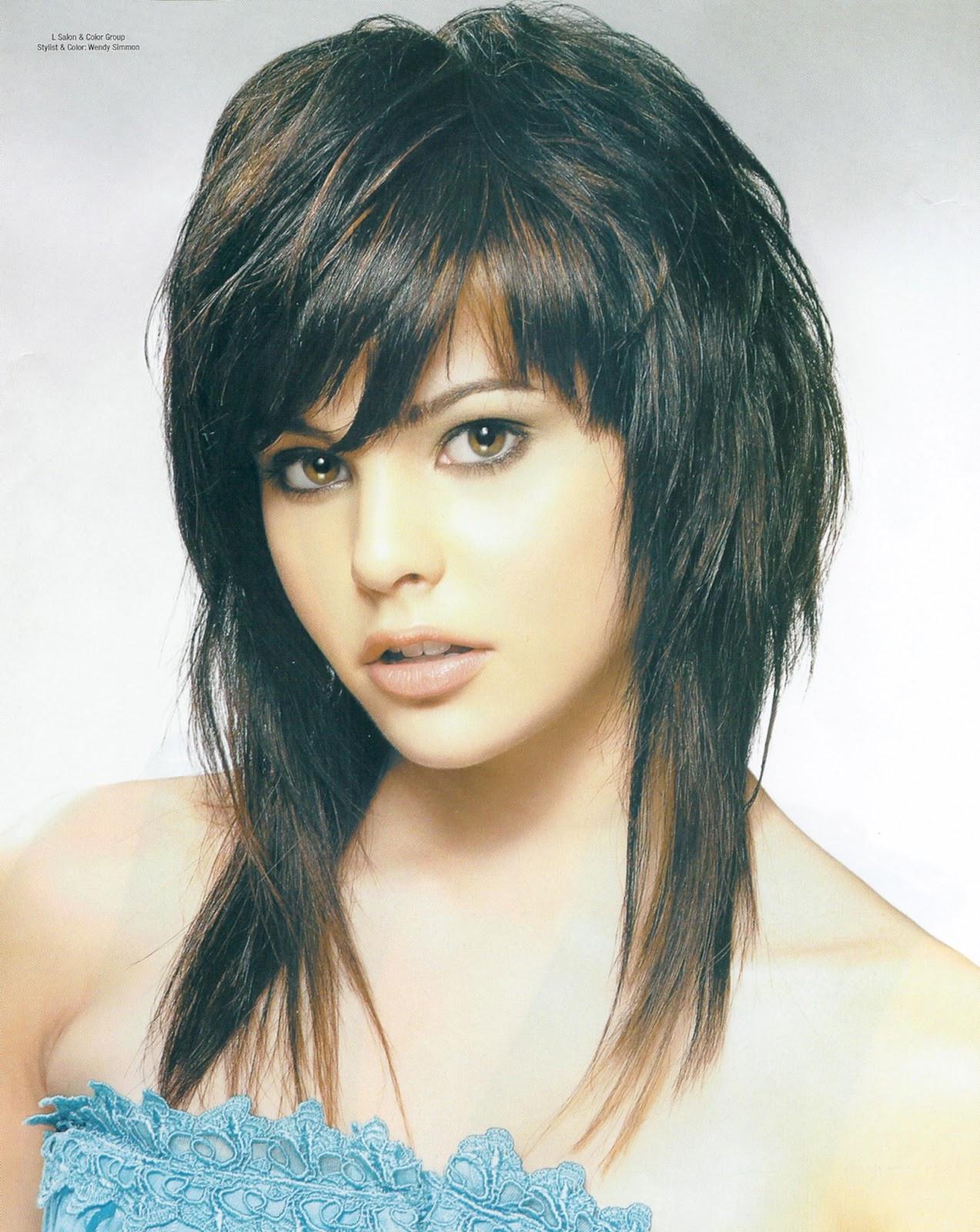 Medium Cut Hair  Medium Length Haircut And Hairstyles Ideas 2013
