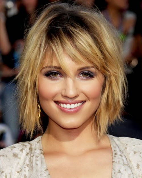 Medium Haircuts For Square Faces  Short Hairstyles for Square Faces and Fine Hair