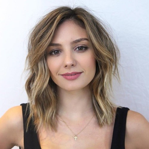 Medium Haircuts For Square Faces  Best hairstyle ideas for square face shape Best haircuts