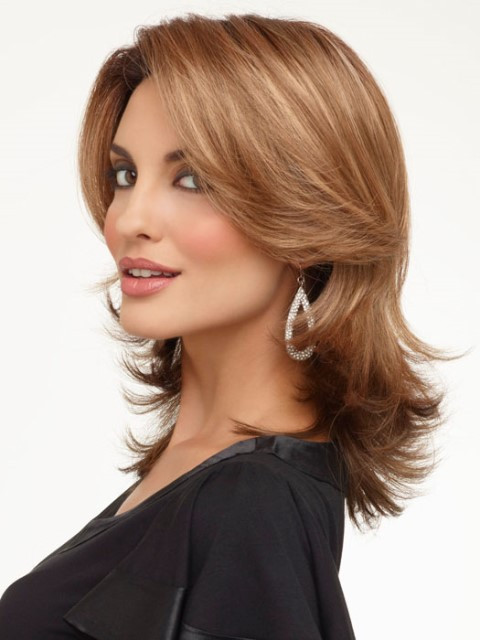 Medium Haircuts For Square Faces  16 LATEST MEDIUM LENGTH HAIRSTYLES FOR SQUARE FACES – WIGS