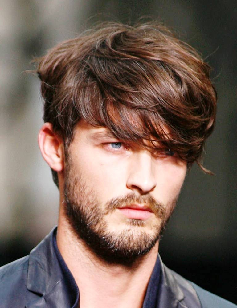 Medium Haircuts Men  37 medium sized hair are popular among men – HairStyles