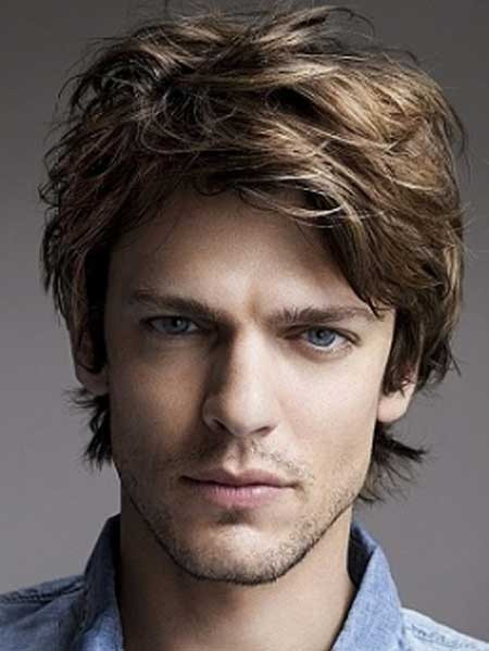 Medium Haircuts Men  Men Medium Length hairstyles 2013
