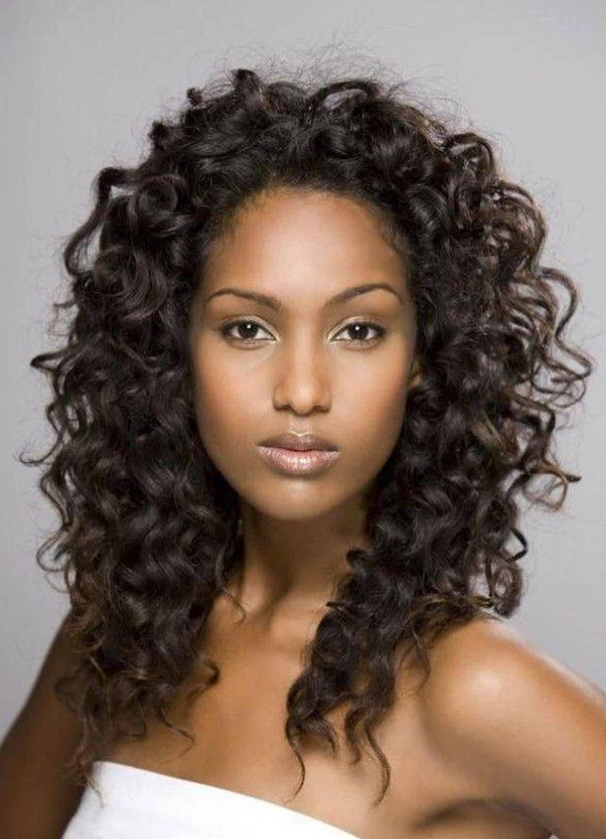 Medium Length African American Hairstyles  African american hairstyles medium length hair Hairstyle