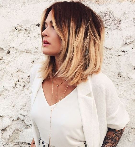 Medium Length Bob Haircuts For Thick Hair  22 Best Hairstyles for Thick Hair Sleek Frizz Free