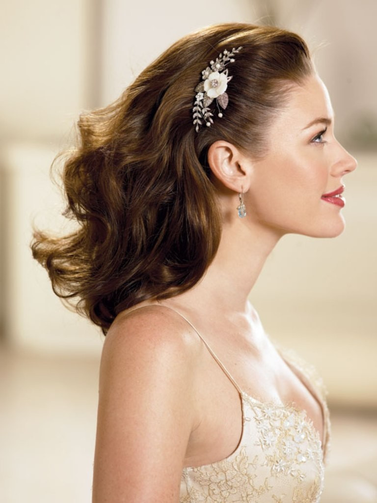 Medium Length Bridesmaid Hairstyles  20 Medium Length Wedding Hairstyles Ideas Wohh Wedding