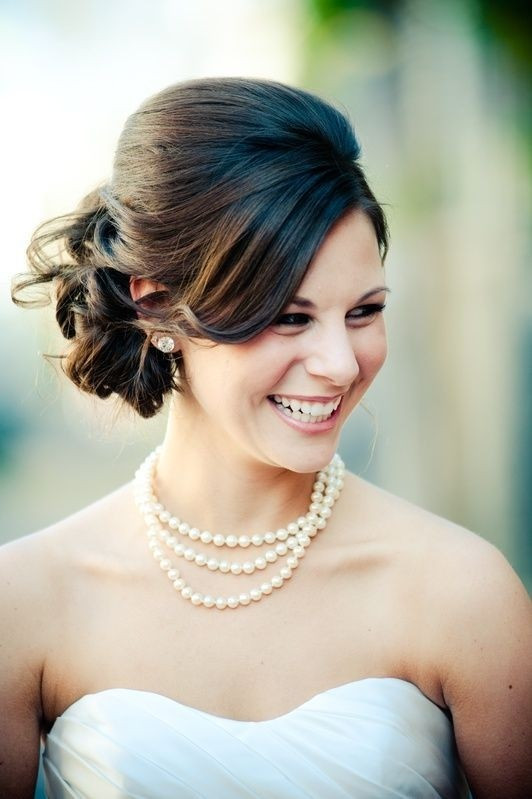 Medium Length Bridesmaid Hairstyles  25 Best Hairstyles for Brides