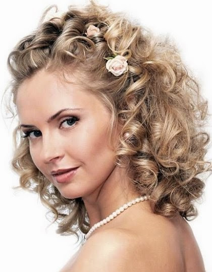 Medium Length Bridesmaid Hairstyles  Medium Length Wedding Hairstyles Wedding Hairstyle