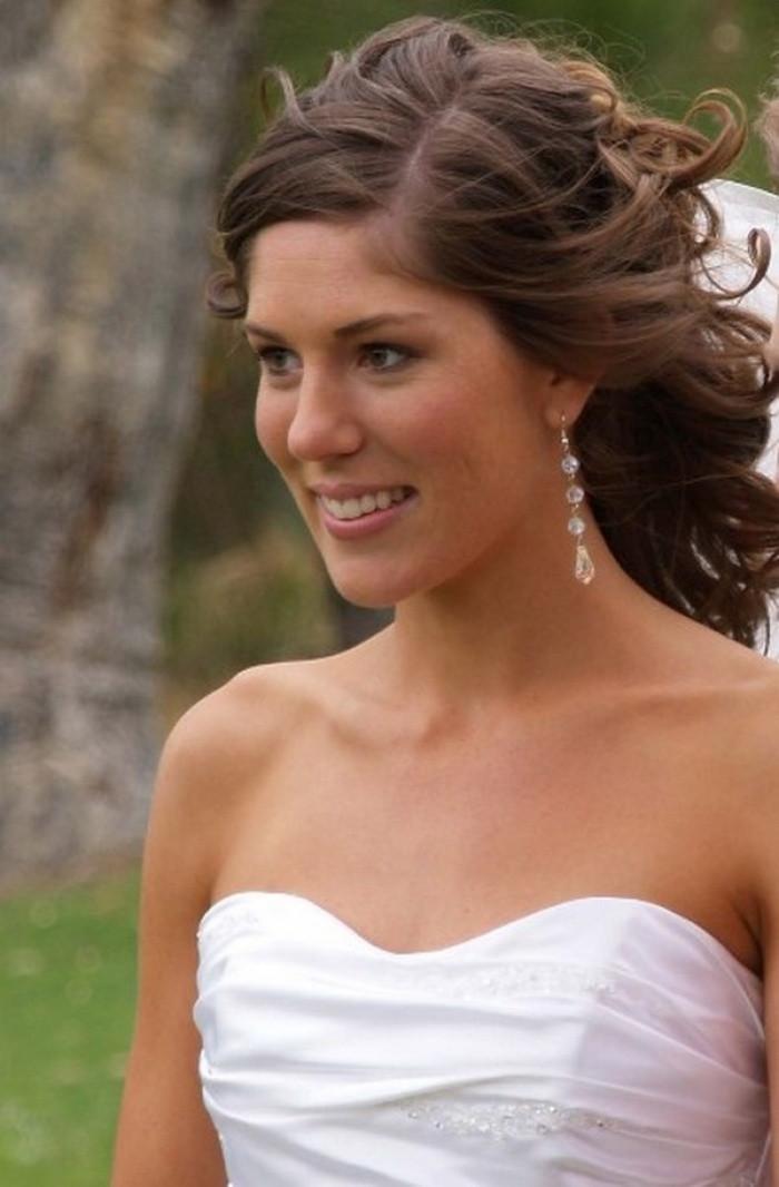 Medium Length Bridesmaid Hairstyles  Medium Length Bridal Hairstyles for Long Hiar with Veil